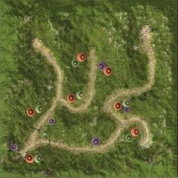 Karte-Wald der Seelen-Rotwald der Seelen