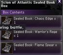Scion of Atlantis Sealed Book Box