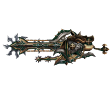 Weapon-large saw