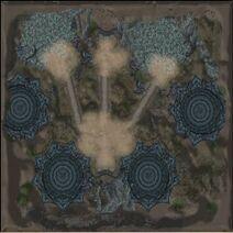 Karte-Yggdrasils Drei Tore-Tor der Einigkeit
