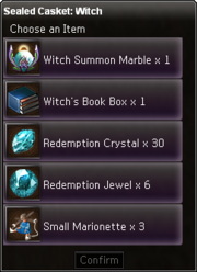 Sealed Casket Witch