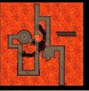 Karte-Kretisches Labyrinth-Zentrum des Labyrinths