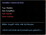 Beschreibung Gefülltes Osterei (Event)