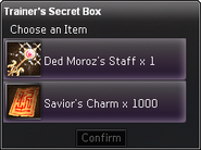 Trainer's Secret Box