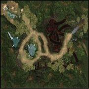 Karte-Blaue Berge-Katoomba