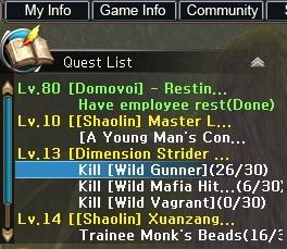 QuestList