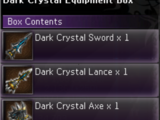 Dark Crystal Equipment Box