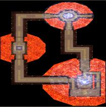 Karte-Labyrinth von Lerna-Labyrinth von Lerna