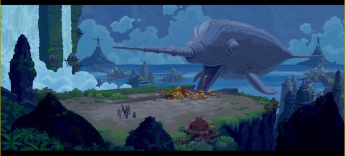 Atlantean Narwhal Vehicle