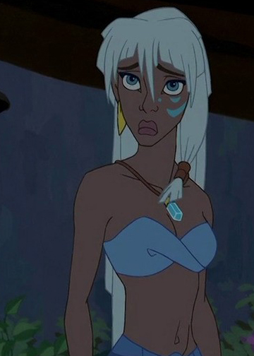Girl from atlantis