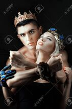 50565866-king-man-passionately-hugging-woman-queen-their-heads-are-decorated-with-the-royal-crown-