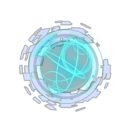 Hologlobe-Emblem