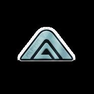 Alpha Silver-Emblem