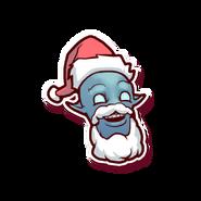 Holiday Koi-Emblem