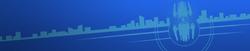Azure Skyline-Background