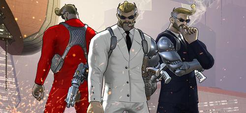Lockwood-Secret Agent Skins