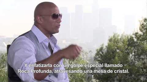 FAST & FURIOUS 7 - Entrevista a Dwayne Johnson