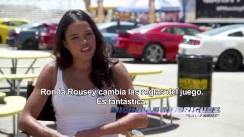 FAST & FURIOUS 7 - Michelle Rodriguez vs
