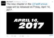 Twitt de la cuenta oficial