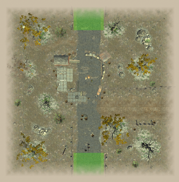 Lost BusStop 1 map