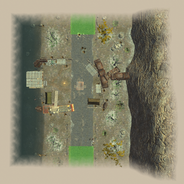Lost DownBus 1 map