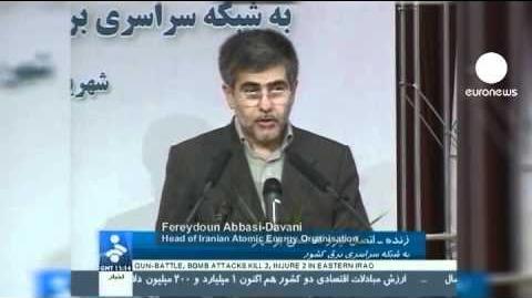 Iran weiht sein erstes Atomkraftwerk ein