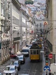 Rush hour Lisbon