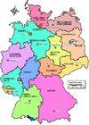 Map Germany Länder-de