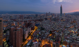 1 taipei sunrise panorama 2015
