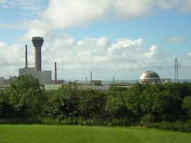Sellafield view from Visitors Centre - geograph.org.uk - 306975