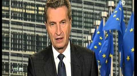 566 Energiewende Die EU Kommission will 33 % Ökoenergie stimmt aber jettzt dagegen hier Oetinger