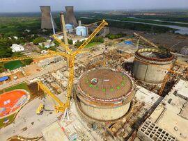 PHWR under Construction at Kakrapar Gujarat India