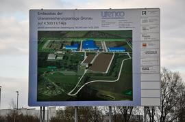 Urananreicherungsanlage der Firma Urenco in Gronau