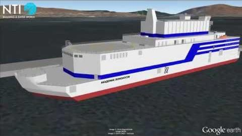 Akademik Lomonosov Floating Nuclear Power Plant - Russia