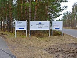 BfS Erkundungsbergwerk Gorleben Eingang