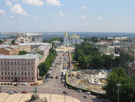 Panorama of Kyiv from Saint Sophia Monastery 5