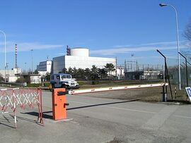 Caorso Nuclear Power Plant - Italy - 3 Feb. 2005