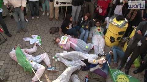 Demonstration gegen Atomkraft in Luxemburg