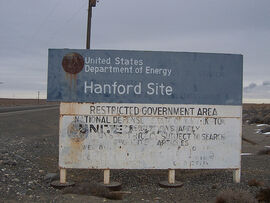 Hanford Site welcome