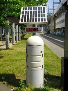 Measurement Station of the real-time radiation level measurement system