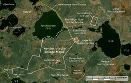 Majak Satellitenkarte