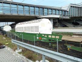 Castor Transport im Bahnhof SBB @ Basel