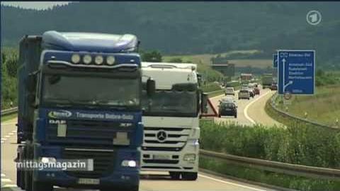 Atomtransporte durch Thüringen Quelle ZDF