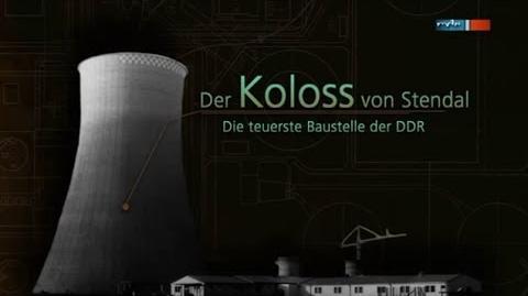Der Koloss von Stendal - die teuerste Baustelle der DDR DOKU (mdr 2o13)