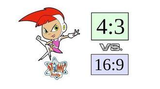 Original (4 3) vs. Remastered (16 9) - Atomic Betty - S1E1 Clip 1080p HD