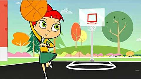 Betty Dribbles the Basketball! (with new sound) 1080p HD
