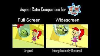 Atomic Betty S1 Episode - Toxic Talent - Aspect Ratio Clip Comparison - 4 3 vs. 16 9 1 HD