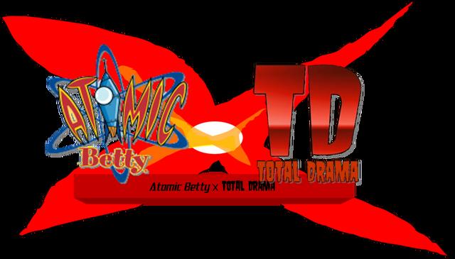 File:Atomic Betty X Total Drama Logo.png