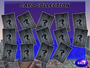 Card Collection page