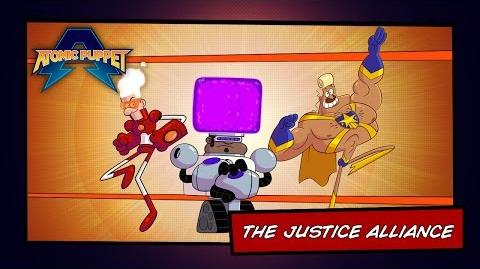 Atomic Puppet - The Justice Alliance - Video Profile